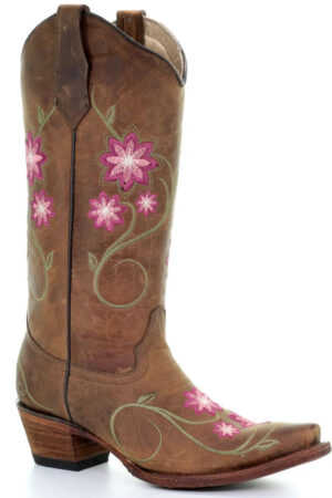 Corral Women's Floral Western Boots