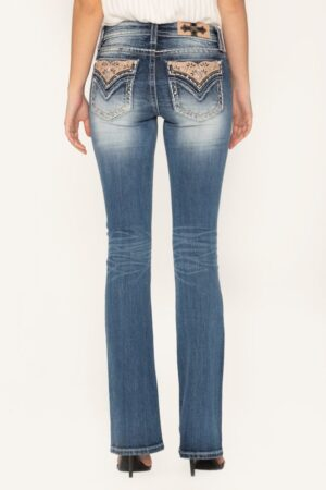 Miss Me Sweet Attitude Bootcut Jeans