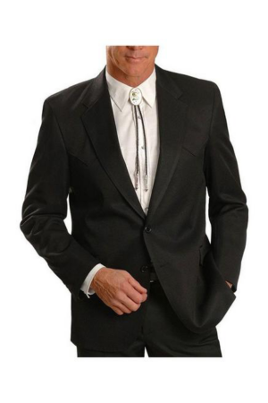 Sidran Circle S Black Sport Coat