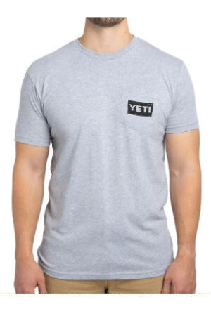 YETI BBQ Trailer Short Sleeve T-shirt