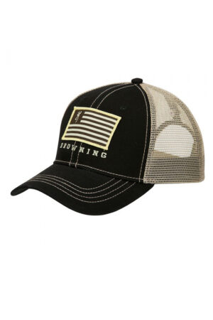 Browning Black & Tan Patriot Cap