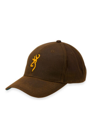 Browning Dura-wax Solid Brown Cap