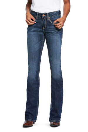 Ariat R.E.A.L. Women's Perfect Rise Stretch Linda Boot Cut Jeans