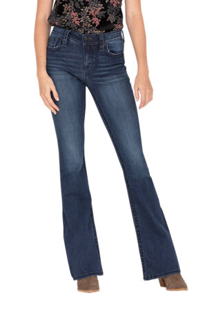 Miss Me Waterfall Flare Jeans